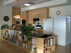 """AJ Designs Under Counter Kitchen Bookcases on custommade.com screaming """"PUT COOKBOOKS IN ME!"""""""