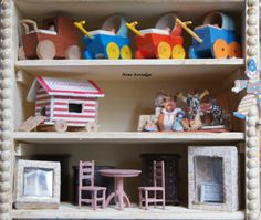 Toyshop The Nutcracker. detail furniture and others...