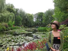 Monet's spectacular waterlily garden - Photo by: Jee Hyun K