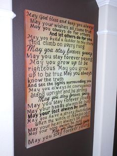 Forever Young Lyrics Signn Love The Bob Dylan Version 3