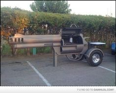 Awesome BBQ Grill!!  The things you find on pinterest  lol  : )