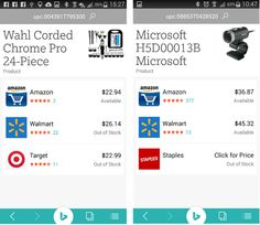 Bing iPhone and Android apps get major updates, new money saving tools