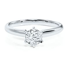 Radiant Star 3/4ct Diamond Engagement Ring in 14K Gold available at #HelzbergDiamonds