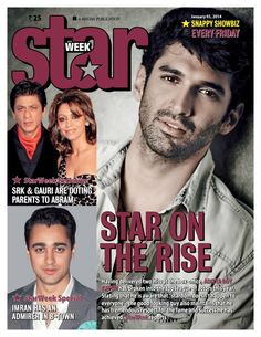 Star Week India - January 3 2014 : About This Issue: In an exclusive chat with StarWeek, Aditya Roy Kapur talks about having a great year in 2013 and that he deeply respects the fame and success he has received. Plus, find out what makes Shah Rukh and Gauri Khan the perfect parents to AbRam. About StarWeek: StarWeek is India's first and only Bollywood weekly magazine. From films to fashion, from gossip to glamour, this magazine ...   More