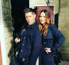 Jensen Ackles And Danneel Harris Ackles Supernatural Season 13 Dean Winchester, Winchester Brothers, Supernatural Season 12, Supernatural Jensen, Supernatural Background, Supernatural Quotes, Jensen Ackles Family, Jared And Jensen, Daneel Ackles