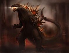 Godzilla Comic-Con 2013 Fan Rendition - Godzilla 2014 Gallery