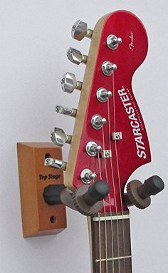 Top Stage® Home and Studio Guitar Keeper (Hanger) Stand Holder Rack w/ Hardwood Base Wall Mount, JX-15 http://www.instrumentssale.com/top-stage-home-and-studio-guitar-keeper-hanger-stand-holder-rack-w-hardwood-base-wall-mount-jx-15/