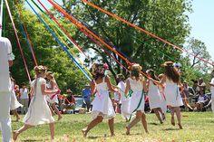 Family Rhythms: Waldorf School May Day Festival