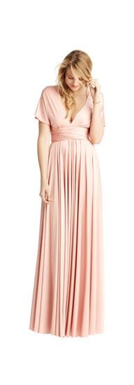 best website I've seen for tutorials on how to tie dessy jersey twist wrap dress. Click on a look you like & watch the video for that look. #bridesmaid