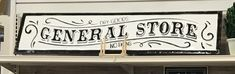 Signs, Home Decor, Decoration Home, Room Decor, Shop Signs, Sign, Dishes, Interior Decorating