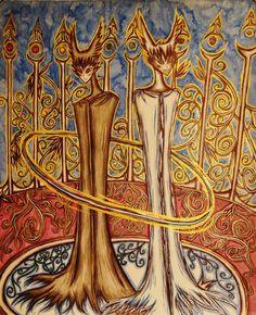 Erra and Arra eternal other by Twilightsoma on @DeviantArt