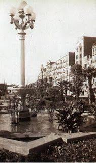 Lleida Font dels Jardins de l'Alcalde Pujol, 1930.