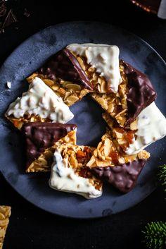 Florentiner Rezept Weihnachtsplätchen Florentine Cookies Deli Dreierlei Zuckerzimtundliebe