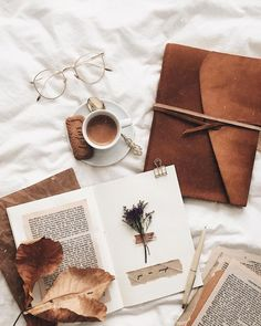 Flatlay Inspiration · via Custom Scene · Book and Nature inspired scene Autumn Aesthetic, Brown Aesthetic, Flat Lay Photography, Book Photography, Flatlay Instagram, Instagram Shop, Fall Inspiration, Inspiration Quotes, Coffee And Books