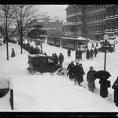 DC in the snow, circa 1922