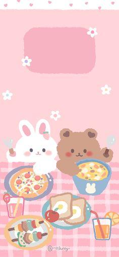 Kawaii Wallpaper, Cute Laptop Wallpaper, Simple Iphone Wallpaper, Cute Panda Wallpaper, Cute Pastel Wallpaper, Soft Wallpaper, Minimalist Wallpaper, Bear Wallpaper, Cute Patterns Wallpaper