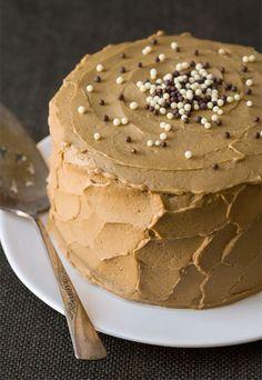 Sweet Potato Layer Cake with Molasses Buttercream
