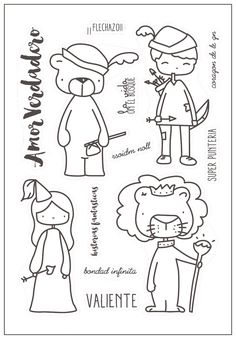 In China, Easter Stickers, Digital Stamps, Cardmaking, My Favorite Things, Doodles, 1, Clip Art, Lettering