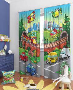 """Комплект штор """"Эниф"""": купить комплект штор в интернет-магазине ТОМДОМ #томдом #curtains #шторы #interior #дизайнинтерьера"""
