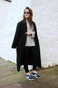 XXL coat + Adidas