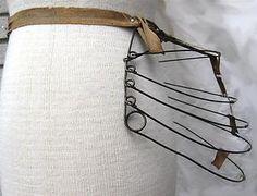 Wire Frame Skirt Bustle Sturdy Antique Victorian | eBay October 2012