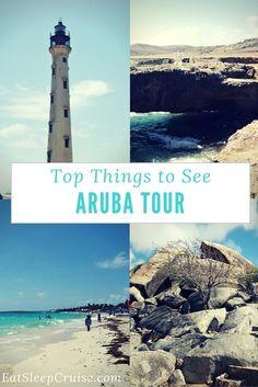 Top Sights to See on an Aruba Island Tour. #Cruise #Caribbean #Aruba