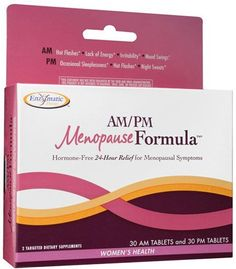 Enzymatic Therapy - AM/PM Menopause Formula - 60 tabs  //Price: $ & FREE Shipping //     #health
