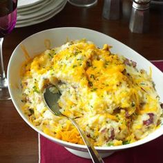 Loaded Smashed Potatoes Recipe from Taste of Home -- shared by Kathy Harding of Richmond, Missouri