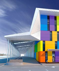 Architektur Exterior Design School Facades 30 Best Ideas Your Reference Guide To Caring Fo Colour Architecture, Education Architecture, Concept Architecture, Facade Architecture, School Architecture, Montreal Architecture, Business Architecture, Architecture Portfolio, Sustainable Architecture