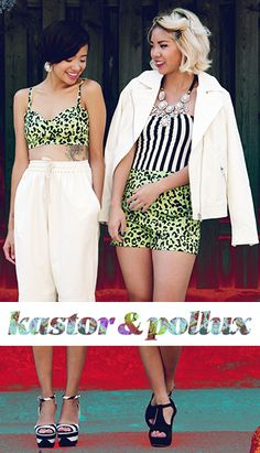 Get the Look: NYFW with Kastor & Pollux
