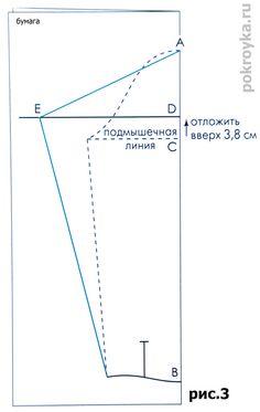 Выкройка основы блузки | pokroyka.ru-уроки кроя и шитья