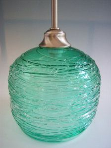 mexican glass pendant lights - Google Search