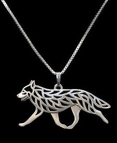 Australian Cattle Dog Running Pendant Necklace -Fashion Jewellery -silver Plated | eBay