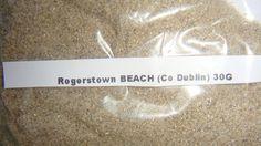5 Different Beach Sand Samples from Ireland 30g in Each Sand Sample | eBay Rogerstown Beach