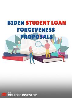 Several Biden student loan forgiveness proposals have already been announced. Learn what they are and how they could impact you!  #studentloans #studentloandebt Private Loans, Private Student Loan, Student Loan Payment, Federal Student Loans, Student Loan Forgiveness, College Tuition, Family Budget, New Students, Proposals