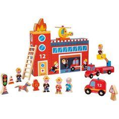 Caja de bomberos de madera de Janod  $36  €28