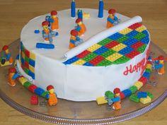 Lego cake nice idea
