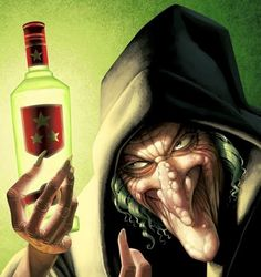 Pinzellades al món: Il·lustracions de bruixes / Ilustraciones de brujas / Illustration of witches (2)
