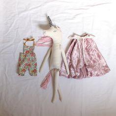 Handmade Unicorn Princess Rag Doll by KonekoMini