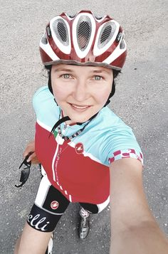 #cycling lady