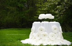 Spring makes its own statement, so loud and clear that the gardener     seems to be only one of the instruments, not the composer. ~Geoffrey B.     Charlesworth  Handmade giant flowers are all the rage for weddings this year! Check out  some of our favorite artists online and have your own