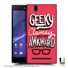 Head Case Designs Awkwardness This Is Awkward Hard Back Case for Sony Xperia T2 Ultra