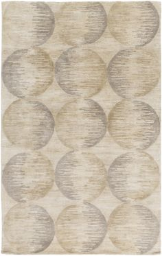 Niall Hand-Tufted Taupe Area Rug