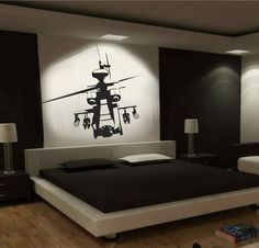 HELECOPTER CALL OF DUTY LARGE FORMAT WALL ART DESIGN | eBay