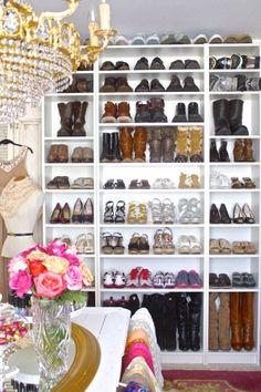 Dream shoe closet