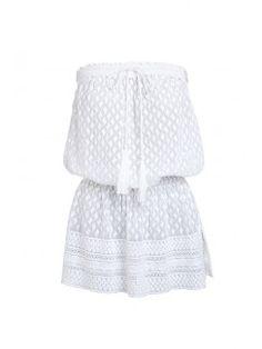 Adela Bandeau Dress - Melissa Odabash Beachwear