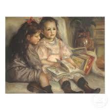 Kinderen lezen boeken schilderij - Google zoeken