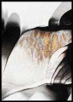 Black And Gold Veins Juliste Art Mur, Elisabeth, Poster Making, Les Oeuvres, Giraffe, Illustration Art, Prints, Gold, Black