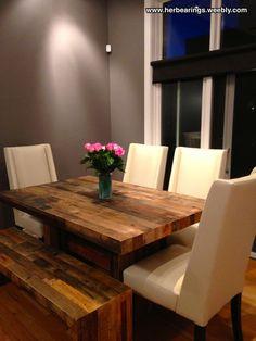 West Elm Emmerson Kitchen Table #WestElm #MyWestElm