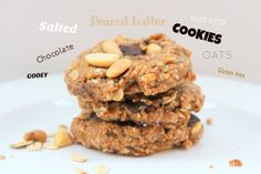 Salted chocolate peanut butter cookies (Gluten-free, vegan) — Life under a lemon tree